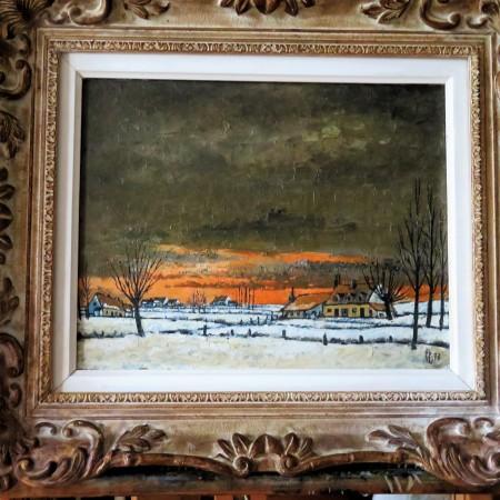 Lijst en kader restauratie schilderij
