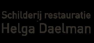 Schilderij en lijsten restauratie Helga Daelman