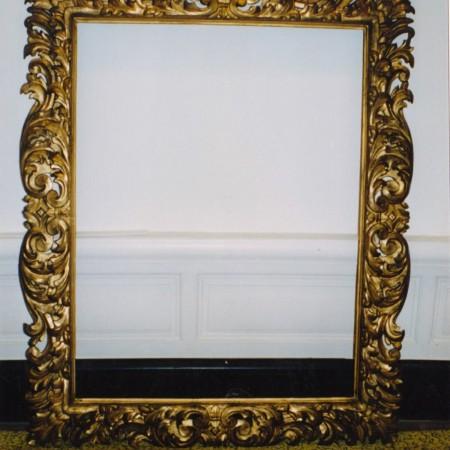 Restauratie kader lijsten schilderij