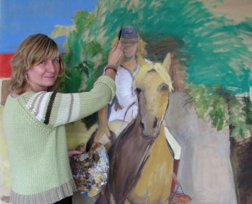 schilderij restauratie helga contact